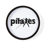 New! Pilates by Svelte.biz Wall Clock