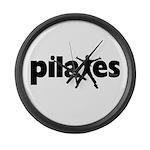 New! Pilates by Svelte.biz Large Wall Clock