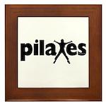 New! Pilates by Svelte.biz Framed Tile