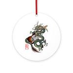 DragonGuitar(T) Ornament (Round)