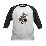 DragonGuitar(T) Kids Baseball Jersey