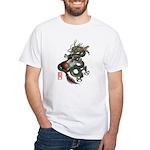 DragonGuitar(T) White T-Shirt