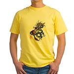 DragonGuitar(T) Yellow T-Shirt