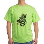 DragonGuitar(T) Green T-Shirt