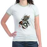 DragonGuitar(T) Jr. Ringer T-Shirt