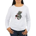 DragonGuitar(T) Women's Long Sleeve T-Shirt