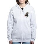 DragonGuitar(T) Women's Zip Hoodie