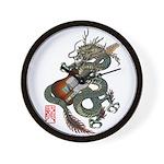 DragonGuitar(T) Wall Clock