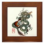 DragonGuitar(T) Framed Tile