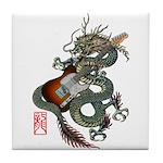 DragonGuitar(T) Tile Coaster