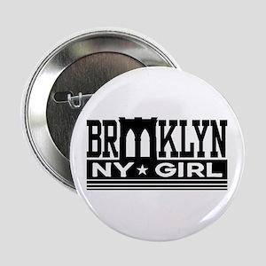 "Brooklyn NY Girl 2.25"" Button"