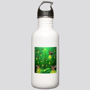 Firefly Christmas Tree Stainless Water Bottle 1.0L