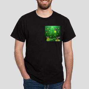Firefly Christmas Tree Dark T-Shirt