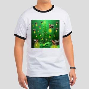 Firefly Christmas Tree Ringer T