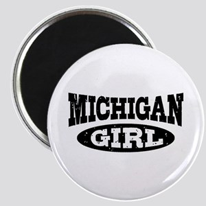 Michigan Girl Magnet