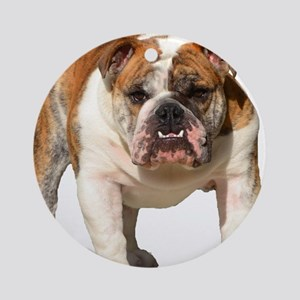 Bulldog Items Ornament (Round)