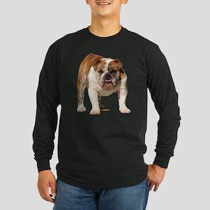 Bulldog Items Long Sleeve Dark T-Shirt