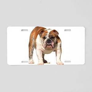 Bulldog Items Aluminum License Plate