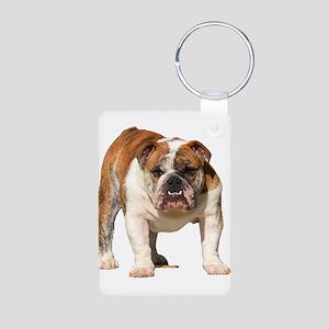 Bulldog Items Aluminum Photo Keychain