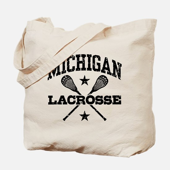 Michigan Lacrosse Tote Bag