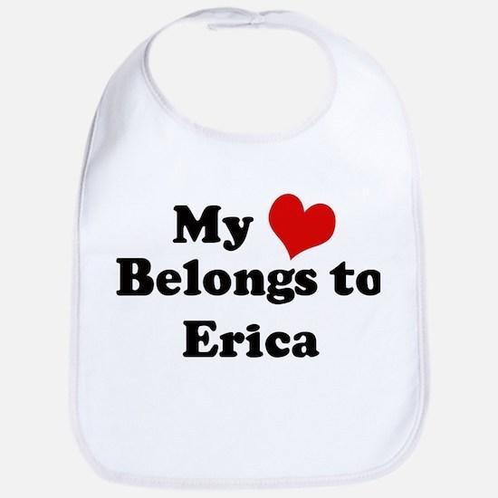 My Heart: Erica Bib