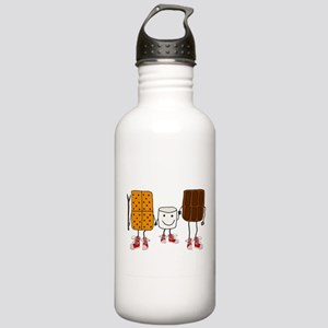 Funny Smores Camping C Stainless Water Bottle 1.0L