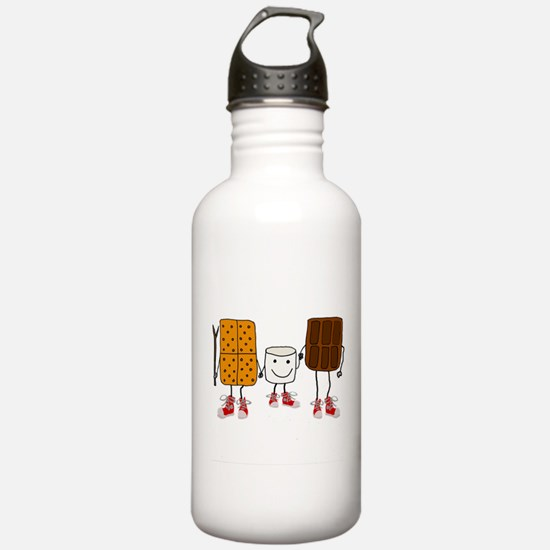 Funny Smores Camping C Water Bottle