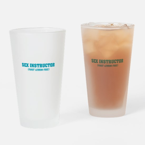 Sex instructor Drinking Glass