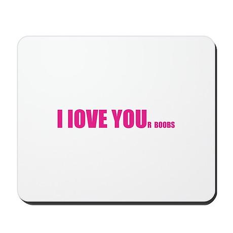 Love you wife boobs