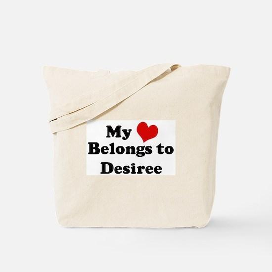 My Heart: Desiree Tote Bag