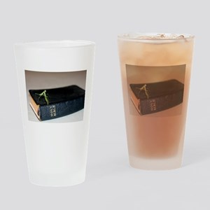 Religious Drinking Glass