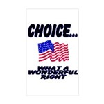 Choice Sticker (Vertical)