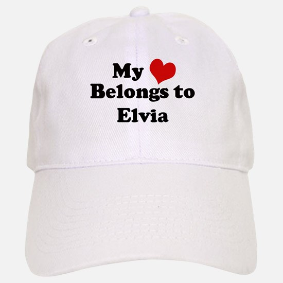 My Heart: Elvia Baseball Baseball Cap