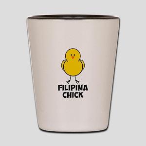 Filipina Chick Shot Glass