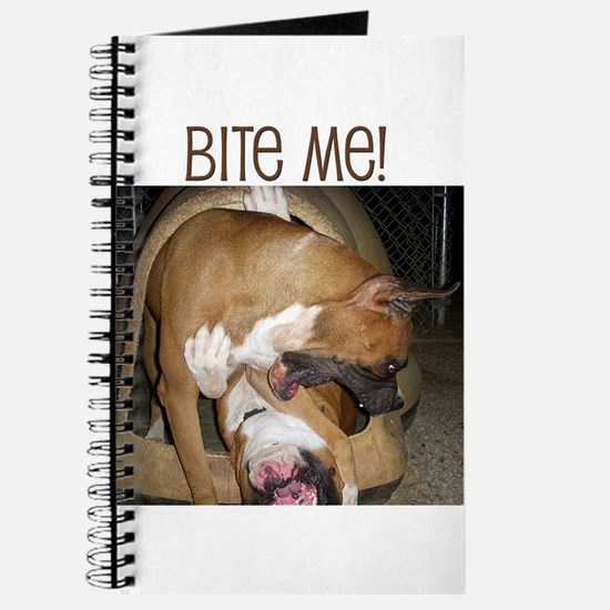 Cool Fighting dogs Journal