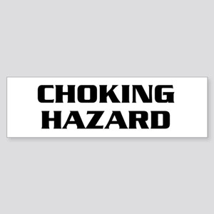 Choking Hazard Sticker (Bumper)