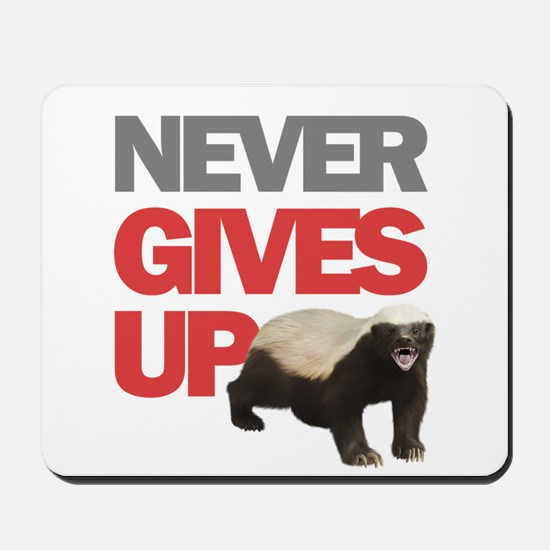 Honey Badger Don't Care Mousepad