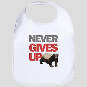 Honey Badger Don't Care Bib