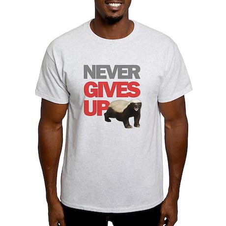 Honey Badger Don't Care Light T-Shirt