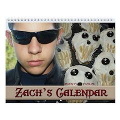 Zach's 2013 Wall Calendar