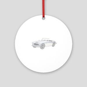 Austin Healey 3000 Mark I - 1960 Ornament (Round)