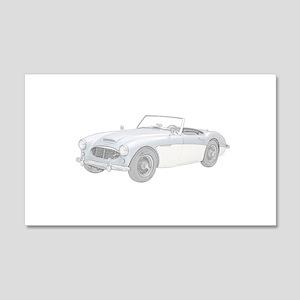 Austin Healey 3000 Mark I - 1960 22x14 Wall Peel