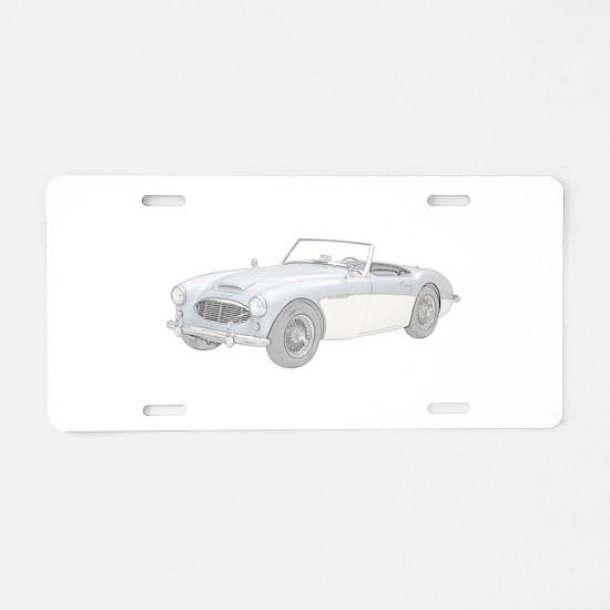 Austin Healey 3000 Mark I - 1960 Aluminum License