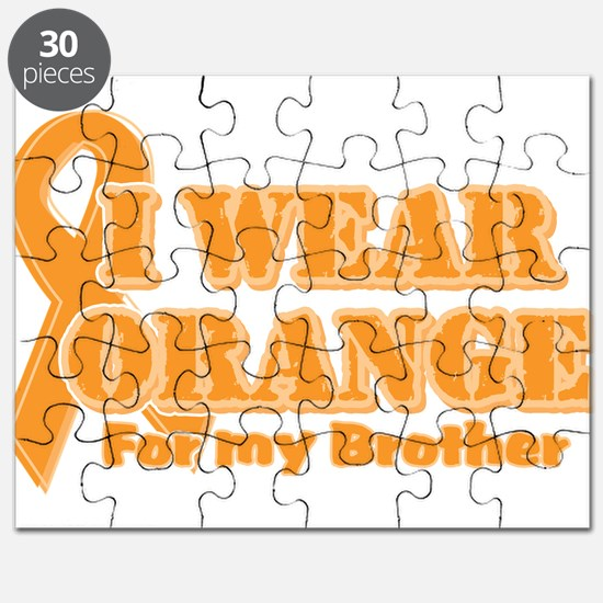 I wear orange brother Puzzle
