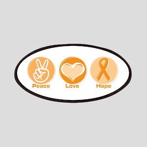 Peace Love Orange Hope Patches