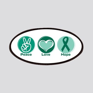 Peace Love Gr Hope Patch