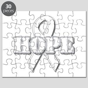 White Hope Ribbon Puzzle