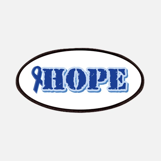 Blue Ribbon Hope Patches