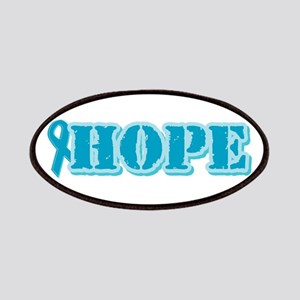 Teal Hope Ribbon Patches