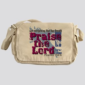 Psalms 150:6 Messenger Bag